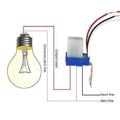 Soumrakový světlocitlivý spínač 24V 10A