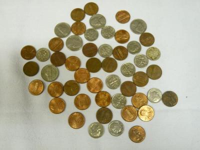 USA centy sbírka konvolut