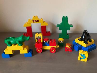 Lego Duplo 2372 - Zoo - Krokodýl + lachtan - set kostek