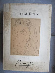 Publius OvidiusNaso- Proměny ilustr. Picasso