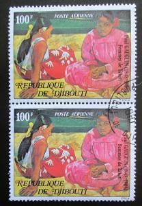 Džibutsko 1978 Umění, Paul Gauguin pár Mi# 227 1828