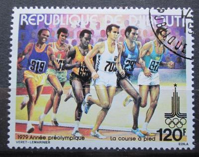 Džibutsko 1979 LOH Moskva, běh Mi# 260 1829