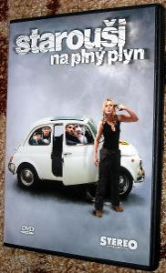 DVD STAROUŠI NA PLNÝ PLYN, POŠTOVNÉ 99,- Kč !!!