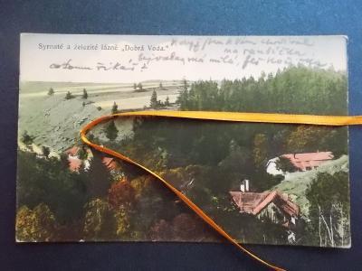 Třebíč Sirnaté železité lázně Dobrá Voda Vladislav