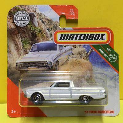 '61 Ford Ranchero - kola s kruhem - Matchbox 2020 75/100 (E8-75)