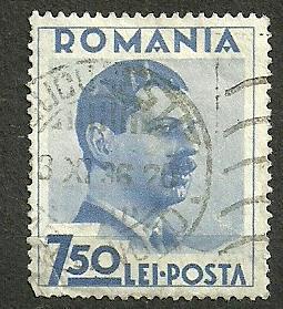 Rumunsko - Mi.č.  499 - ražená