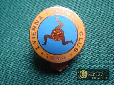 I.Vienna Football Club 1894 - Rakousko (Klopový Odznak)