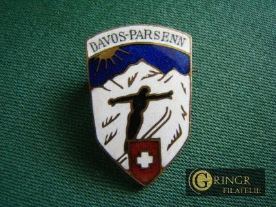 Davos - Parsenn - Skoky na Lyžích - Švýcarsko