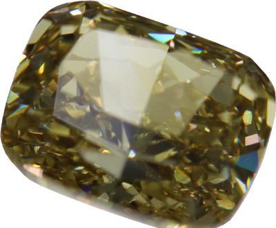 Přírodní diamant 1,10ct, SI1, Fancy brownish Yellow + CERTIFIKÁT ČGL