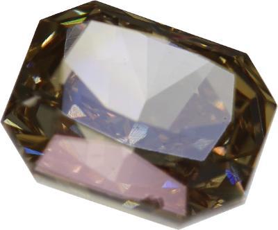 Přírodní diamant 1,24ct, SI1, Fancy light brown + CERTIFIKÁT ČGL