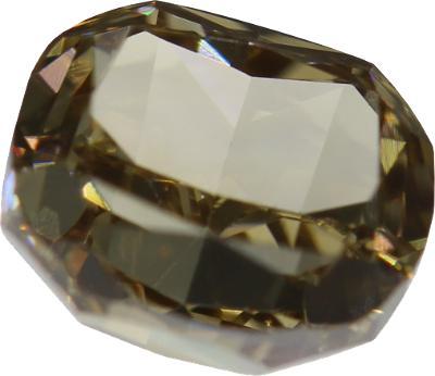 Přírodní barevný diamant 1,01ct, VS2, Yellowish brown + CERTIFIKÁT ČGL
