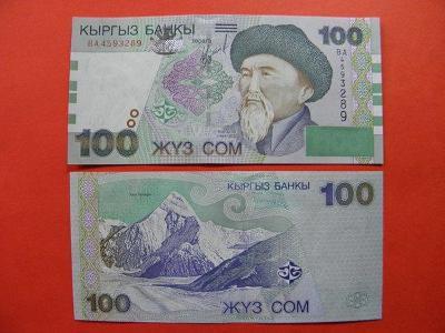 100 Som 2002 Kyrgyzstan - P21 - UNC - /U106/