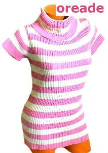 Dívčí mini šaty, úplet, vel. 12 - 13 let