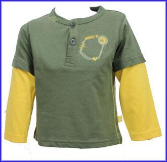 Tričko Minoti vel. 12-18+ měs. zelená