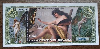 Republika Nakedonie - 500 nuudinara