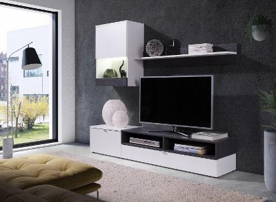 Levná hezká stylová obývací stěna ROCO / 3 barvy! rýchla doprava 0kč