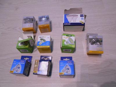 žárovky různé