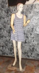 Dámské módní šaty vel.S (jako Nové!!!)