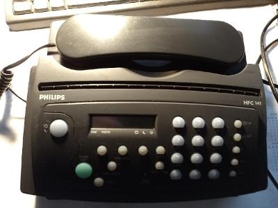 fax + kopírka + telefon - Philips HFC 141