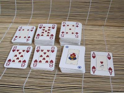 Žolíkové karty - 267 ks