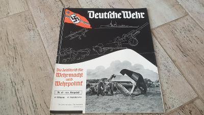Deutsche Wehr-německý válečný časopis 1941-foto z války