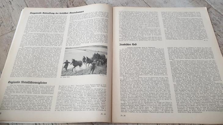 Deutsche Wehr-německý válečný časopis 1941-foto z války - Vojenské