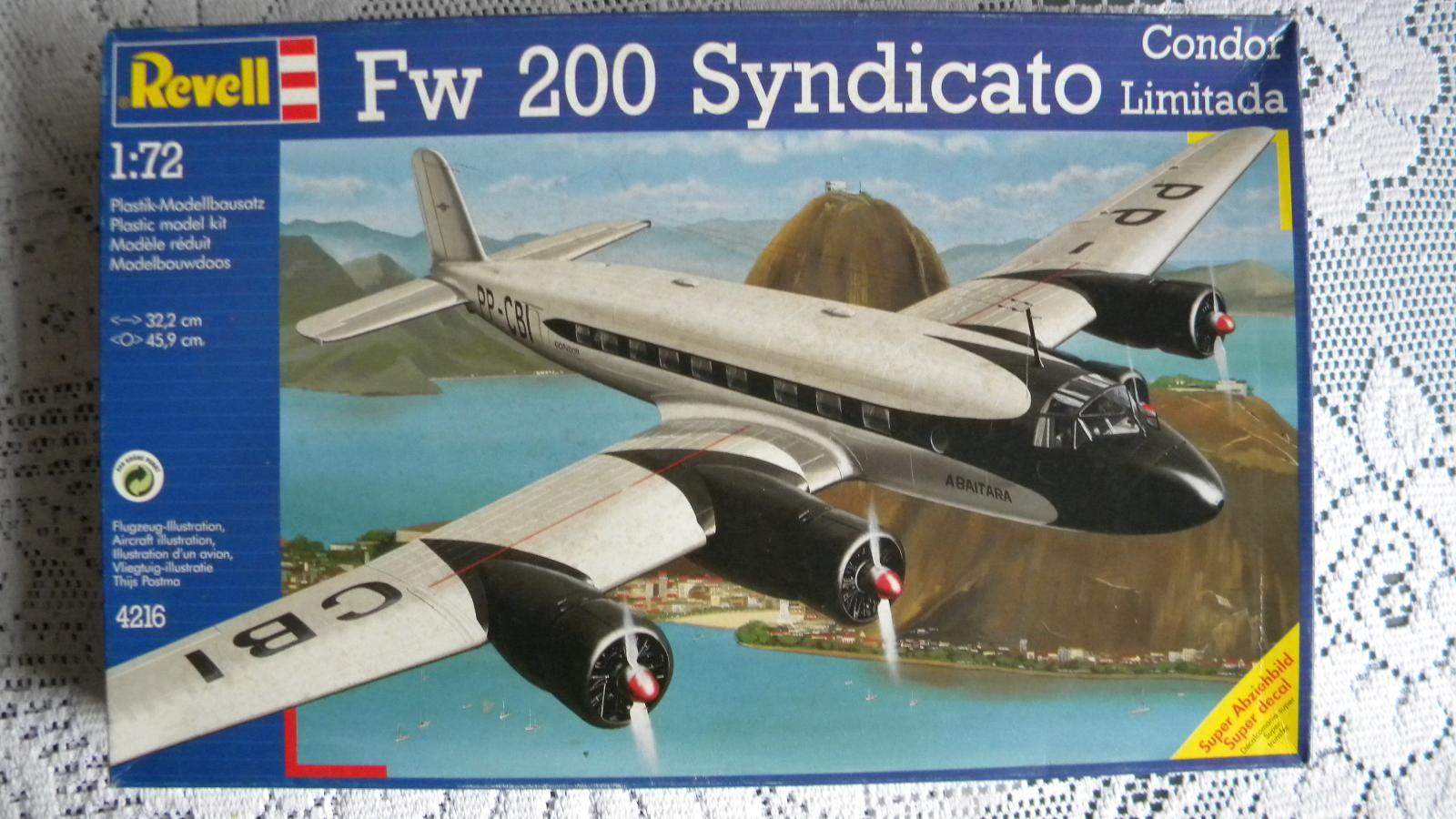 Fw 200 Syndicato Revell 1:72 | Aukro