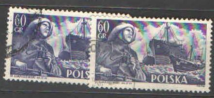 Polsko - Mi.885 - Polské lodě