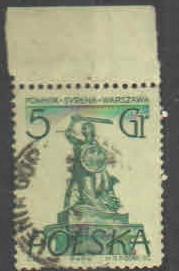 Polsko - Mi.888 - Polské sochy