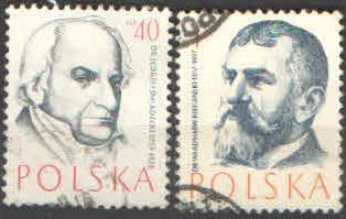 Polsko - Mi.997,1016 - Osobnosti 2x