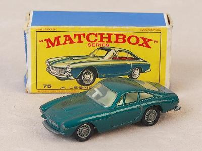 MATCHBOX 75B - FERRARI BERLINETA - 1965 - PŮVODNÍ KRABIČKA