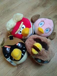 Krasni Velci Plysaci Angry Birds Star Wars