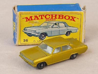 MATCHBOX 36C - OPEL DIPLOMAT - 1967 - PŮVODNÍ KRABIČKA