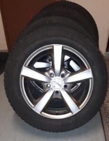 Zimní pneu Michelin Alpin A4, 205/60 R16, 4x pneu + 4x disky