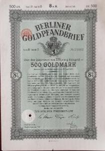BERLINER PFANDBRIEF - AMT, BERLIN, 500 GM, 1930, 29882