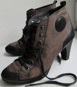 Kožené boty Paul Green vel. 39