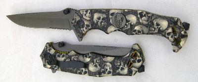 Zavírací nůž poloautomat LEBKY