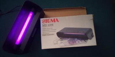 Detektor bankovek, kontrolor, tester - Sigma MD 2306