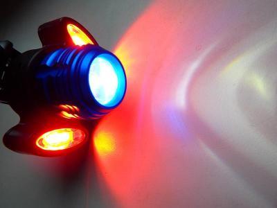 NOVINKA NABÍJECÍ USB LED SVĚTLO NA KOLO SE ZOOMEM 4 V 1
