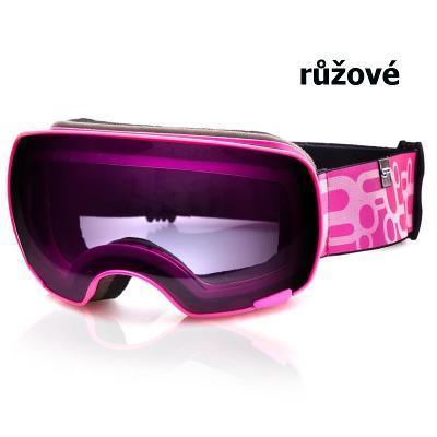 Lyžařské brýle SPOKEY Yoho - růžové