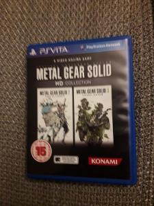 PS Vita hra Metal Gear Solid HD Collection