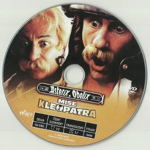 DVD originál: Asterix & Obelix - Mise Kleopatra (2002), jen disk