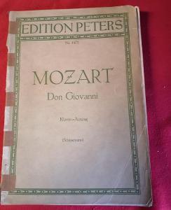 Hudební noty - Mozart - Don Giovanni/324 str.....(9957)