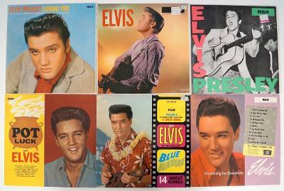 6x LP ELVIS PRESLEY, sbírkové stavy, RCA - PRODEJSBIREK od 1 Kč (A0670