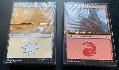 MTG Magic the Gathering - základní země balíčky 60 ks AKH/KLD