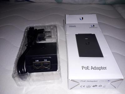 24V 1.0A Ubiquti PoE adapter včetně 230V kabelu