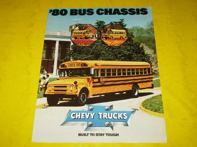 --- Chevrolet - Bus Chassis (1980) ------------------------------- USA