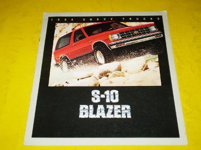 --- Chevrolet S-10 Blazer (1984) --------------------------------- USA