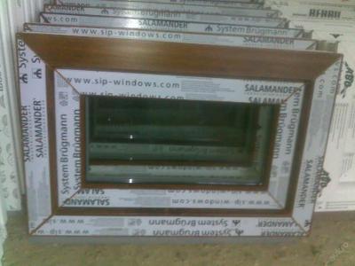 Plastová okna ( plastové okno ) 60x40 zlatý dub