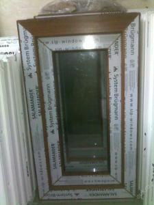 Plastová okna ( plastové okno ) 40x70 zlatý dub